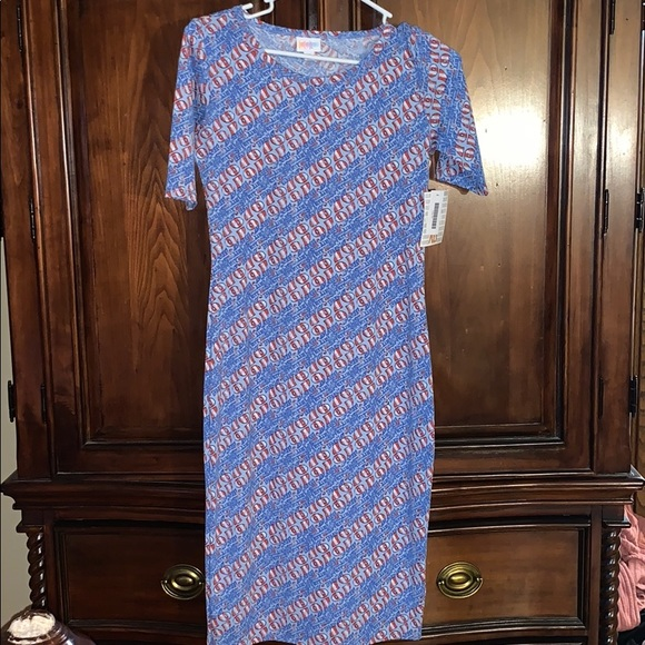 LuLaRoe Dresses & Skirts - Lularoe 4th of July Julia!!